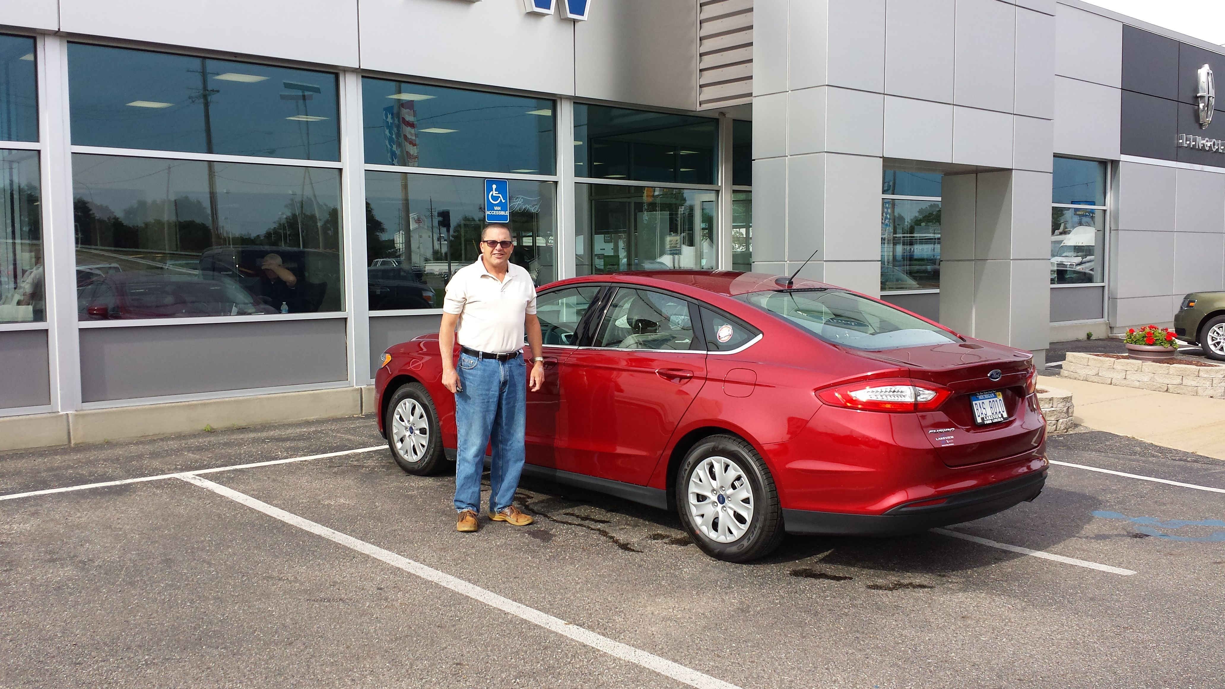 Congratulations Jim Demarest On The Leasing Of Your Brand New 2013 Ford Fusion Thank You Lakeview Ford Lincoln 2013 Ford Fusion Used Cars Used Car Dealer