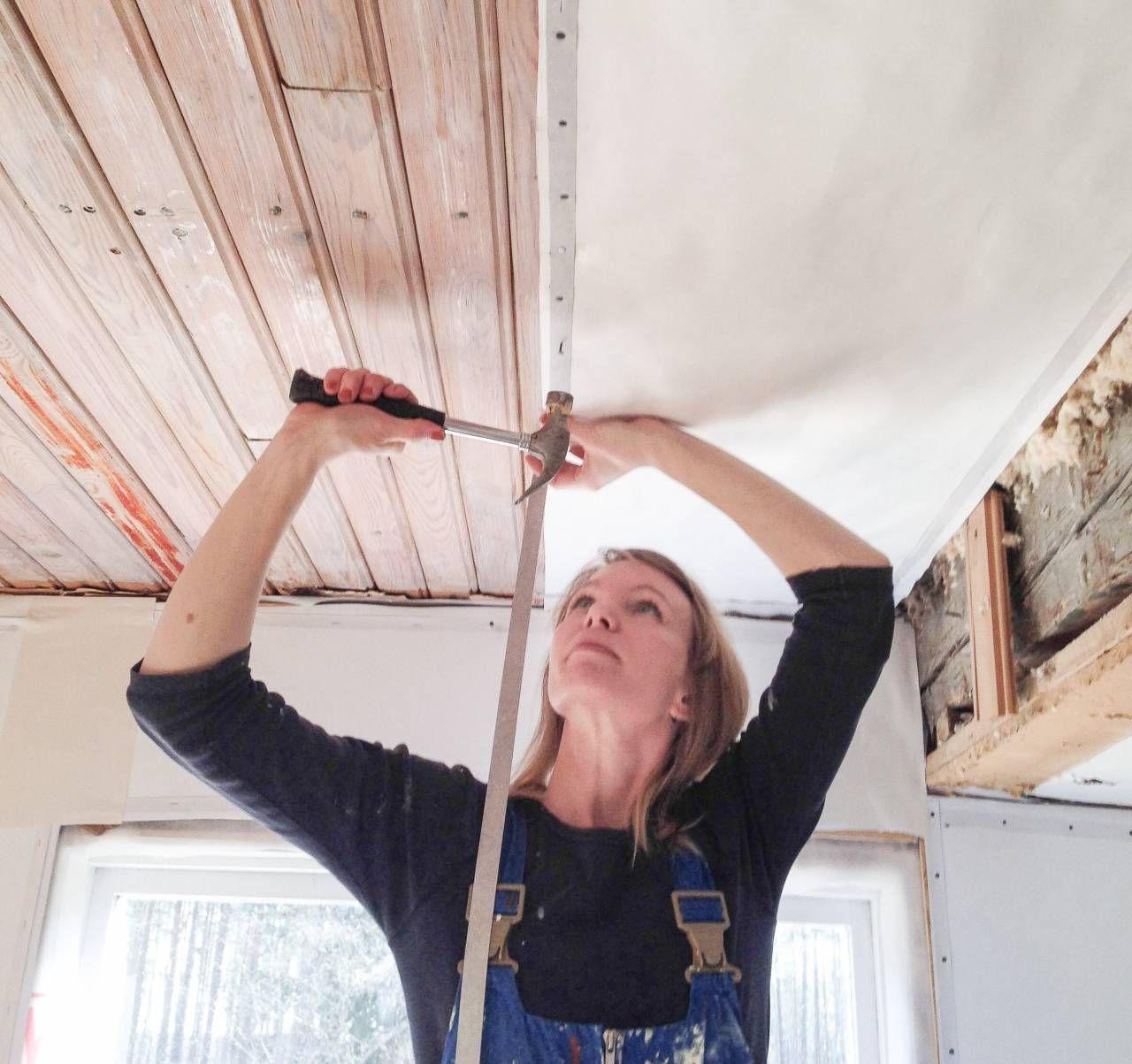 Inredning måla på gammal tapet : Pappspänning och mÃ¥lning. Erika Åberg | Hus och bygg . PÃ¥ insidan ...