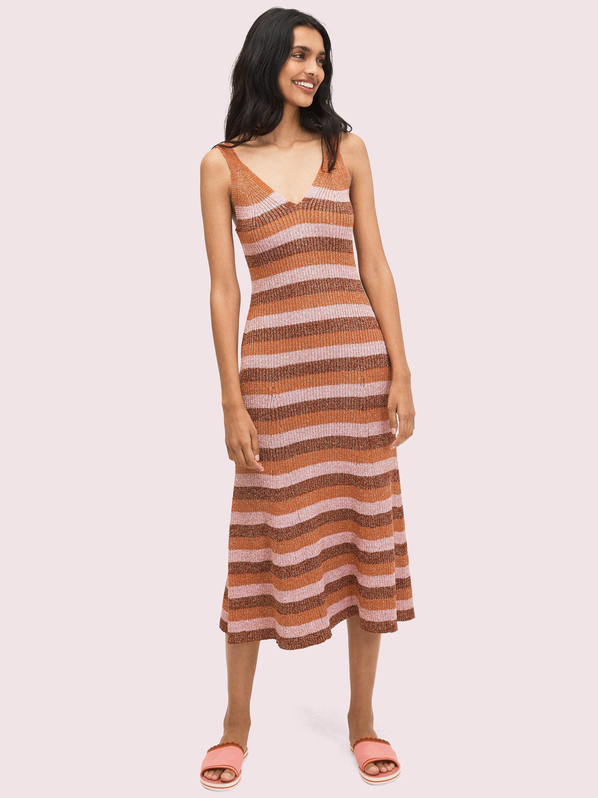 Sparkle Stripe Sweater Dress In 2021 Striped Sweater Dress Summer Dress Outfits Ribbed Sweater Dress [ 2666 x 2000 Pixel ]