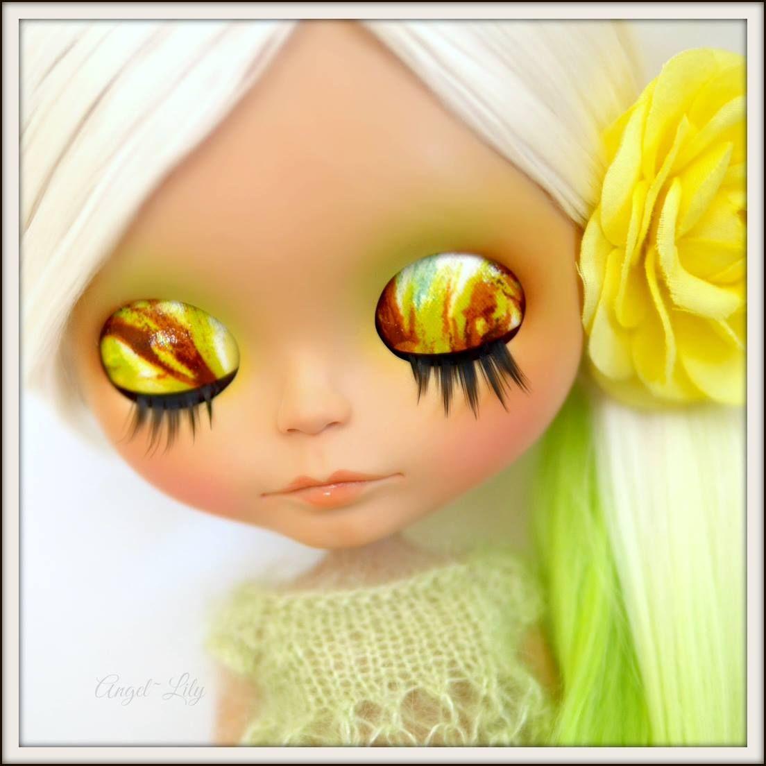 Angel-Lily Custom Blythes