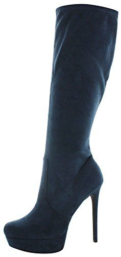 Jessica Simpson Serelli Women's Stiletto Dress Boots Blue Size 8 ** Continue to the product at the image link.