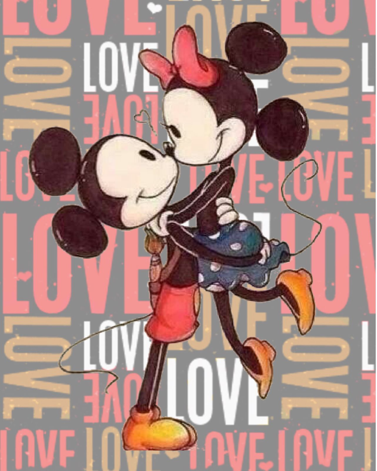 14 de febrero, Love, Mickey y Minnie