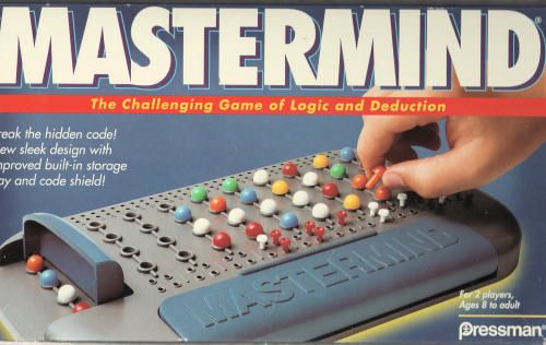 Mastermind Game Guess The Sequence Of Colors Hidden By Your Opponent Exercises Logic And Algorithmic Thinking T Challenging Games Mastermind Strategy Games