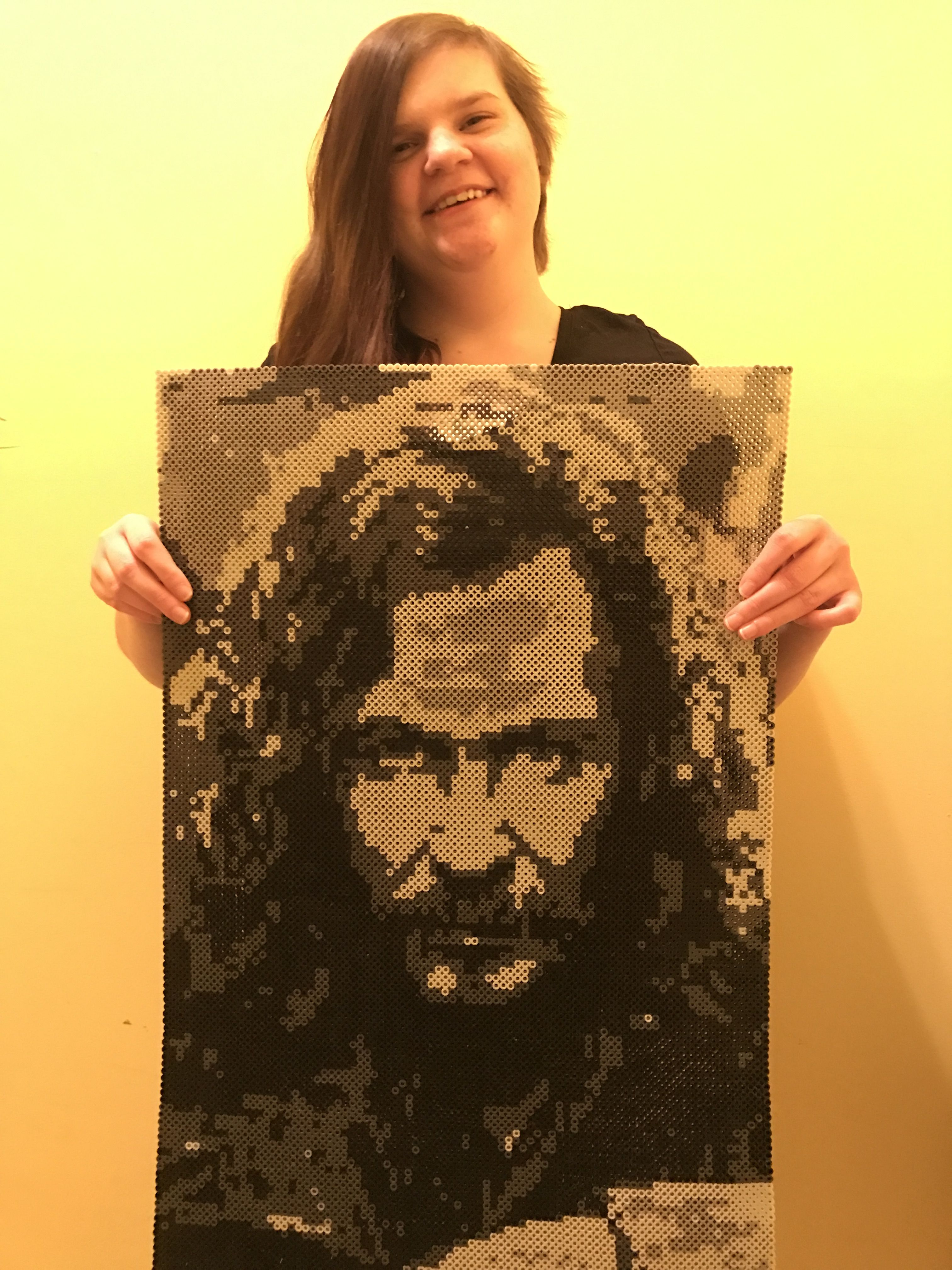 Perler Beads Sirius Black from Harry Potter Made by Kelsey Flaherty ...