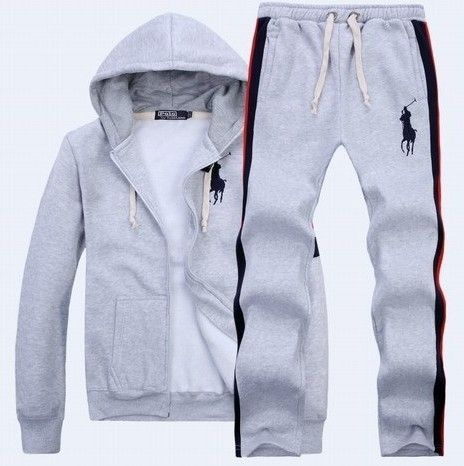 11b3608ecf Ralph Lauren Mens Big Pony sport suit grey | Clothes | Mens fashion ...