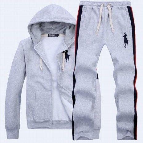 Ralph Lauren Mens Big Pony sport suit grey  18c6554b5d8d6