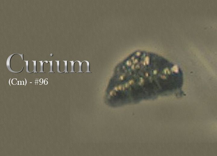 Named After The Famous Physicist Marie Curie The Curium Cm Is An