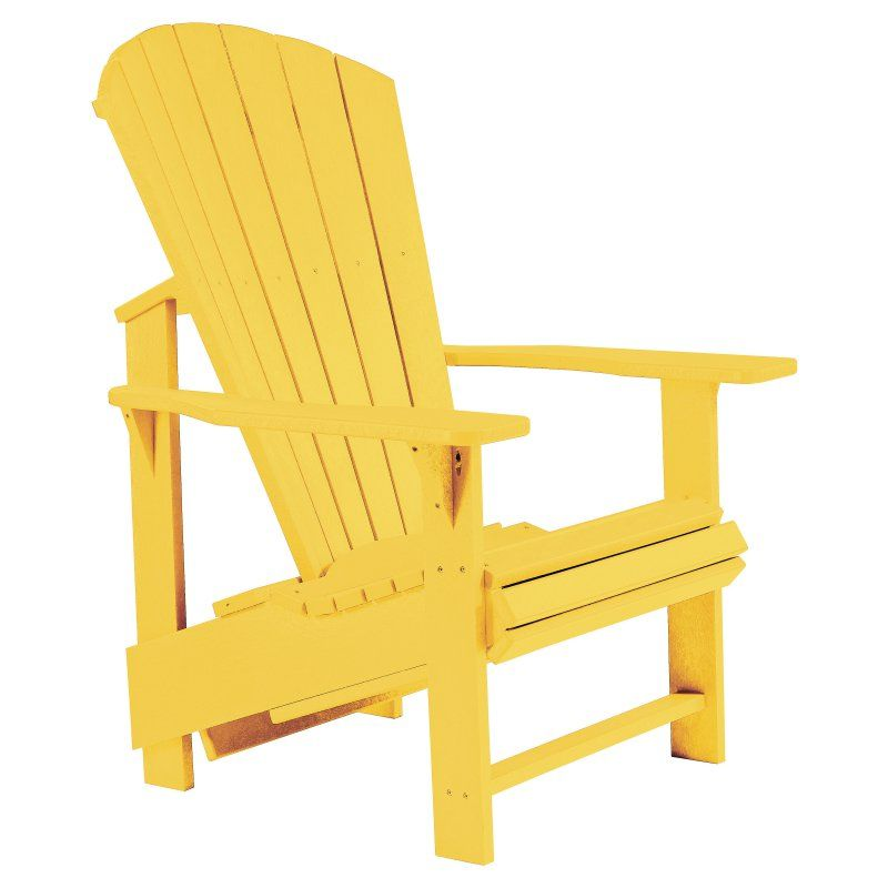 Admirable Outdoor Cr Plastic Generations Upright Adirondack Chair Andrewgaddart Wooden Chair Designs For Living Room Andrewgaddartcom