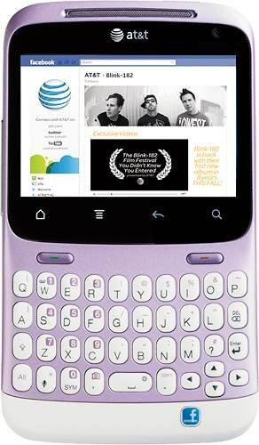 Amazon Com Htc Status Chacha A810a Unlocked Phone With Qwerty Keyboard 5mp Camera Wi Fi And Gps Us Warranty Mauve W Unlocked Phones Cellular Phone Phone