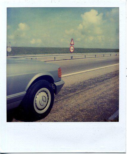 Polaroid by Christopher Makos