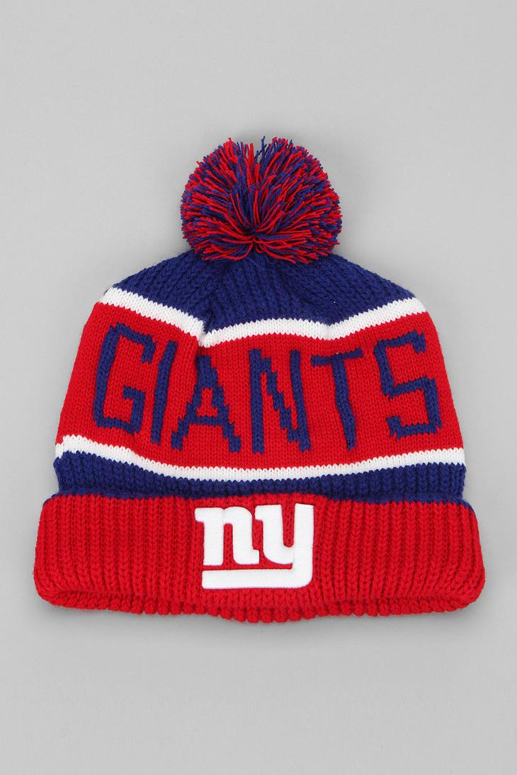b6066dad928 47 Brand New York Giants Calgary Knit Beanie