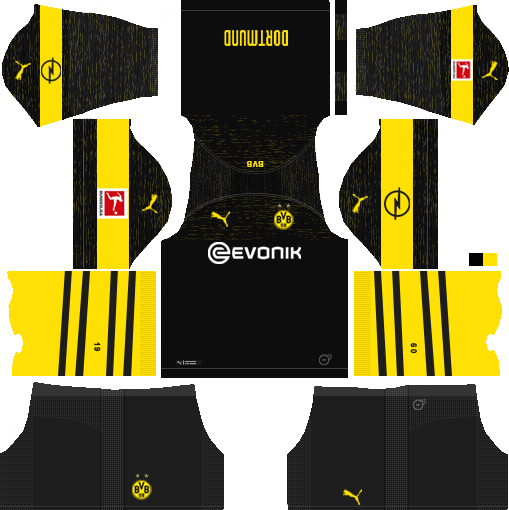 Dream League Soccer Kits Borussia Dortmund 2018 2019 Kit Url Olahraga