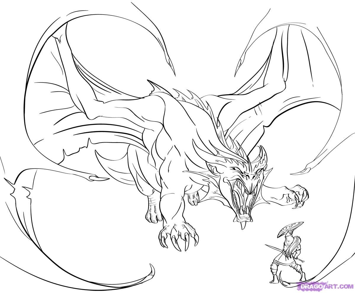dragon drawings in pencil how to draw a dragon slayer