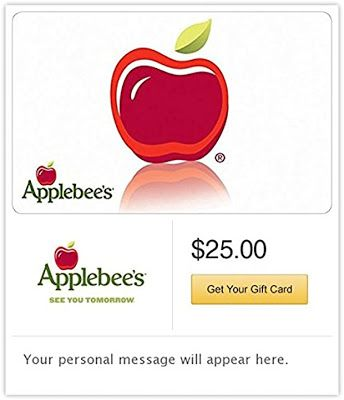 Photo of FREE Applebee's Email Gift Card