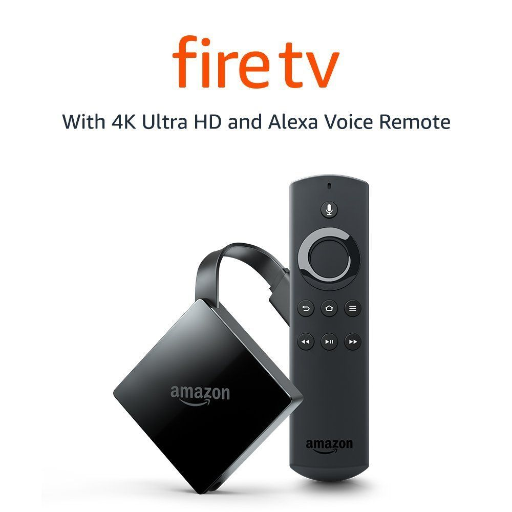Amazon Fire Tv With 4k Ultra Hd And Alexa Voice Remote Streaming Media Player Voice Remote Amazon Fire Tv Fire Tv