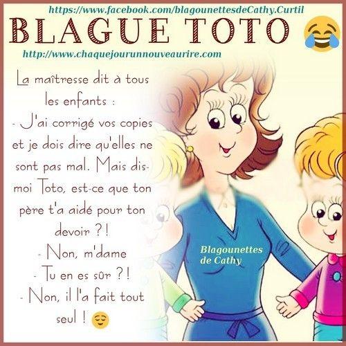 Blague Sur Le Theme Toto Blague Pour Enfants Blague Blague De Toto