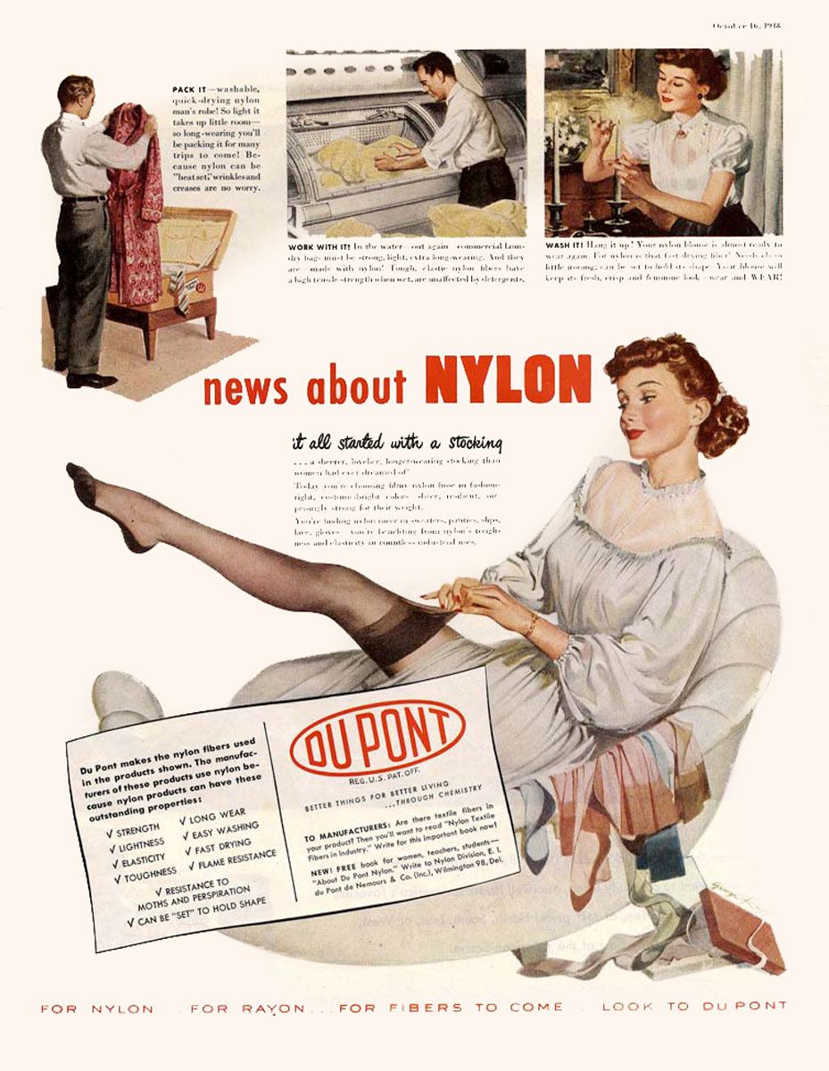 History Of Nylon Stockings More