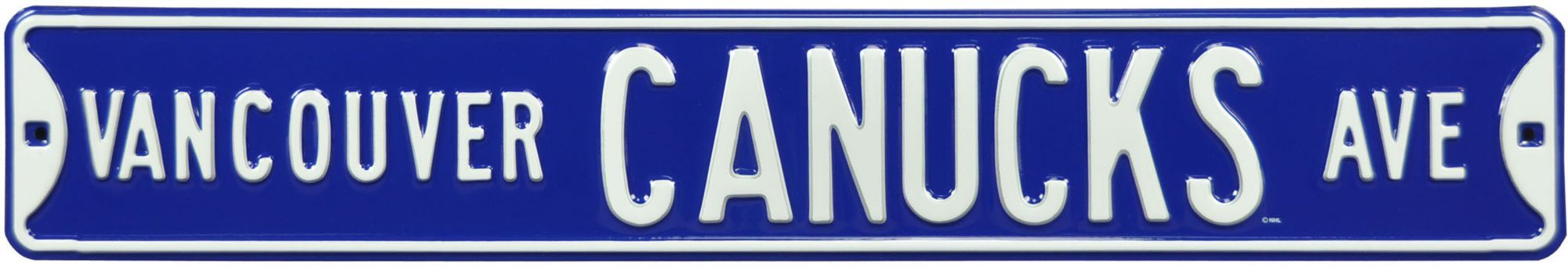 Authentic Street Signs Vancouver Canucks Ave Sign, Team