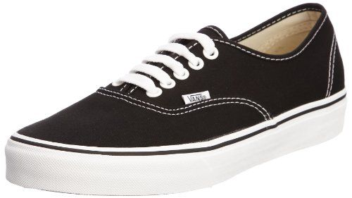 vans authentic schwarz 37