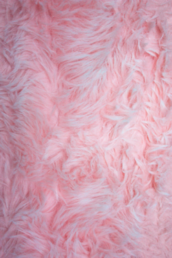 Pink Fuzzy Rug