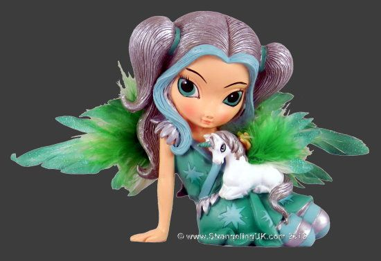 Jasmine Becket-Griffith Etheral Grace Fairy and Unicorn Enchanting Companions