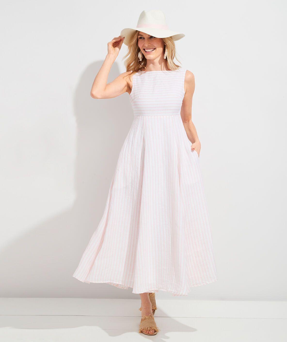 Shop Palm Beach Lately Stripe Maxi Dress At Vineyard Vines Striped Maxi Dresses Dresses Shopping Womens Dresses [ 1410 x 1184 Pixel ]
