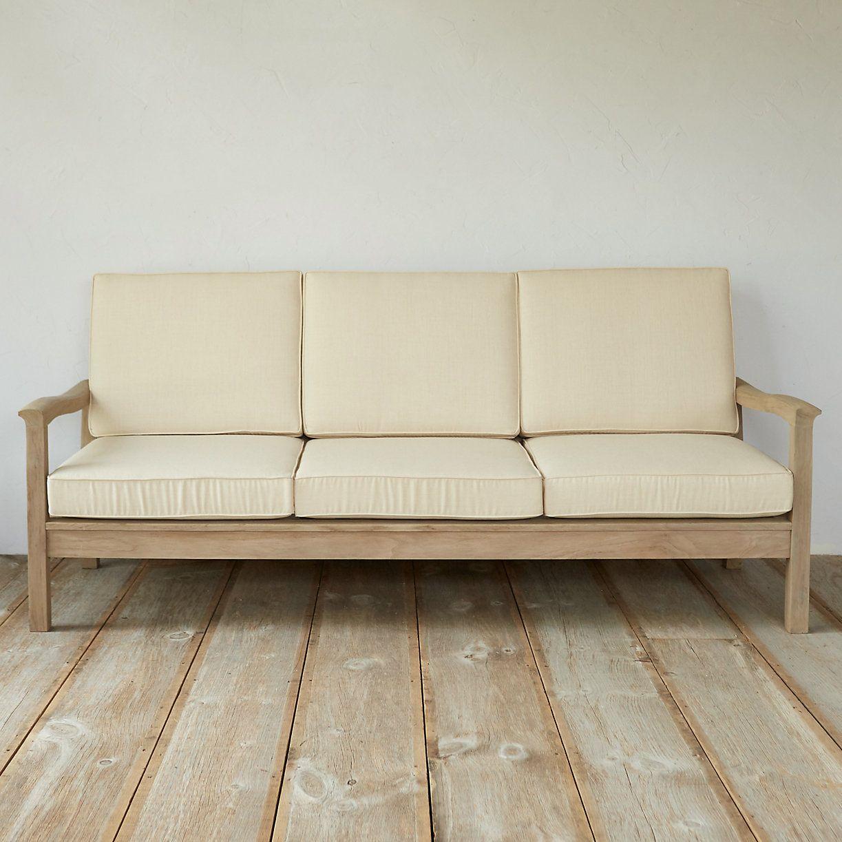Garden Furniture · Protected Teak Classic Sofa