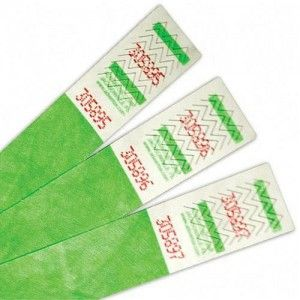 Tyvek wristbands. Find out what tyvek wristbands are used for | Paper writsbands. bestpaperwristbands.com