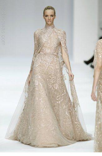 Vestido de novia de Elie Saab.