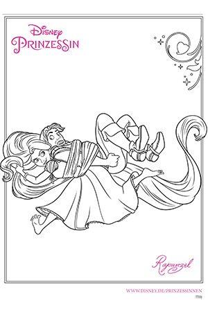 Pingl par marjolaine grange sur coloriage raiponce rapunzel disney et coloring pages - Reponse la princesse ...