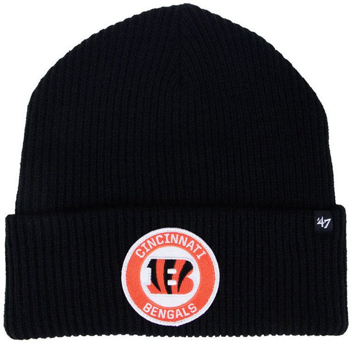 new arrival f6452 6886a ... usa 47 cincinnati bengals ice block cuff knit hat. b2f95 09d4b