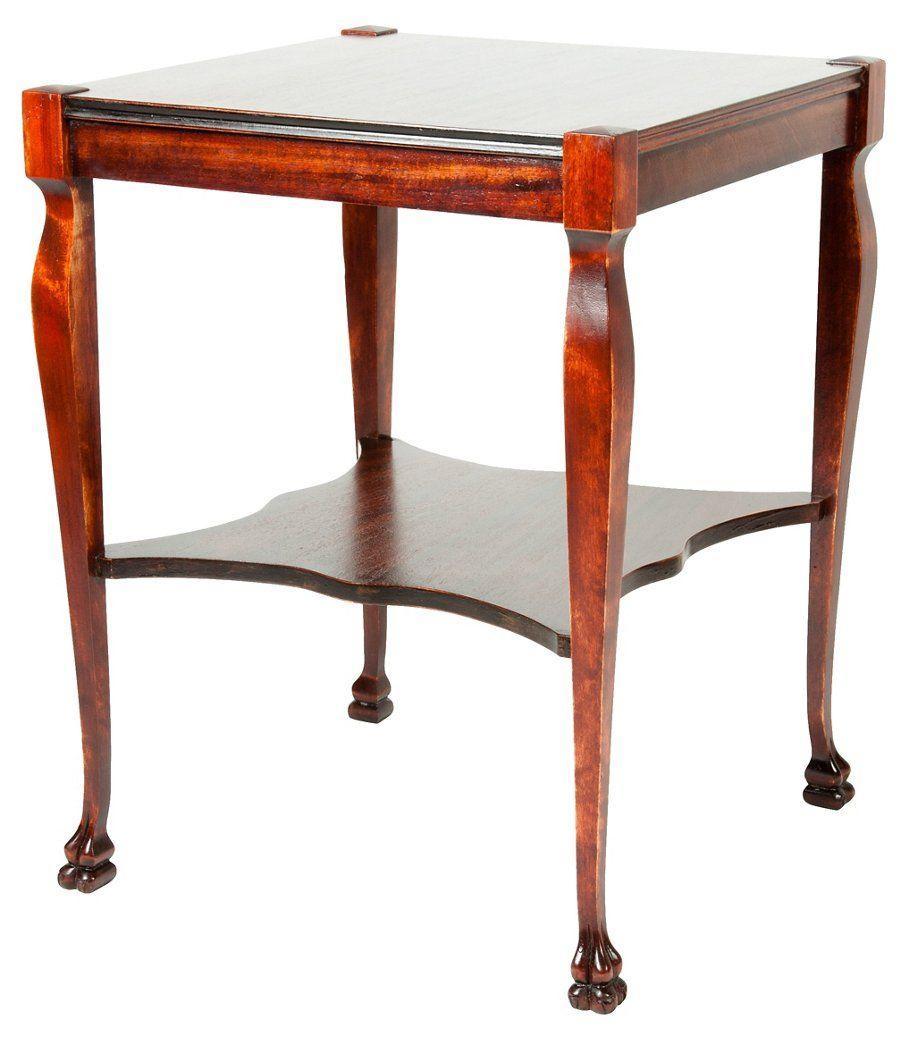 Mahogany Side Tables Living Room Tan Sofa Table Standard Furniture One