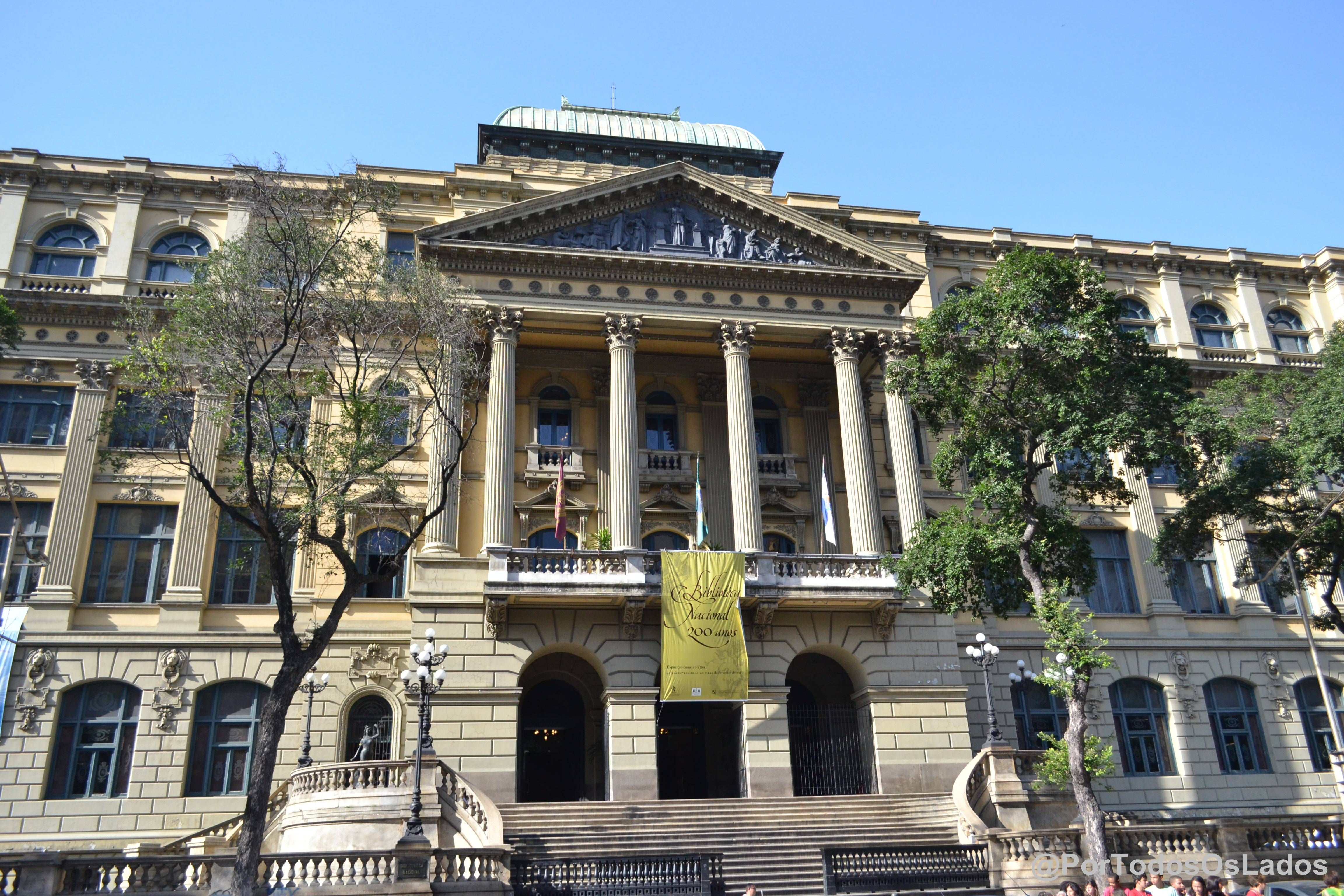 Rio de Janeiro, Brasil - Museu Nacional de Belas Artes (Av. Rio Branco)