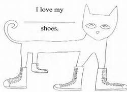 Pete the Cat white shoes printable - Bing Images   Pete ...