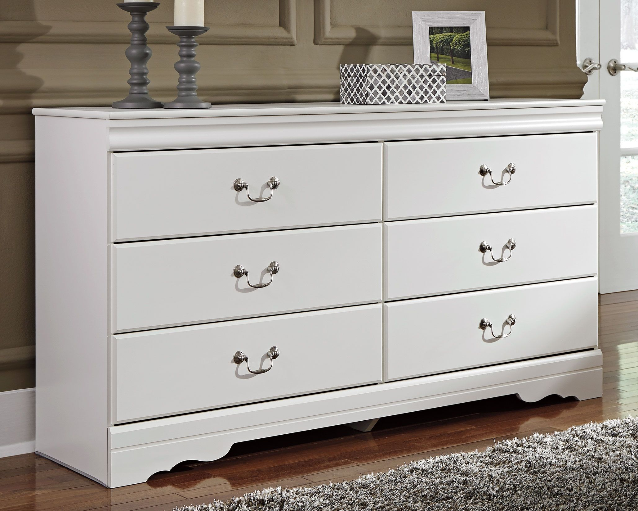 Best Anarasia Dresser White Ashley Furniture Outlet 400 x 300