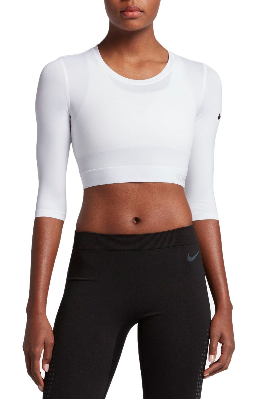 87ec2777a Nike Pro Hypercool Crop Top available at #Nordstrom | Fitness Gear ...