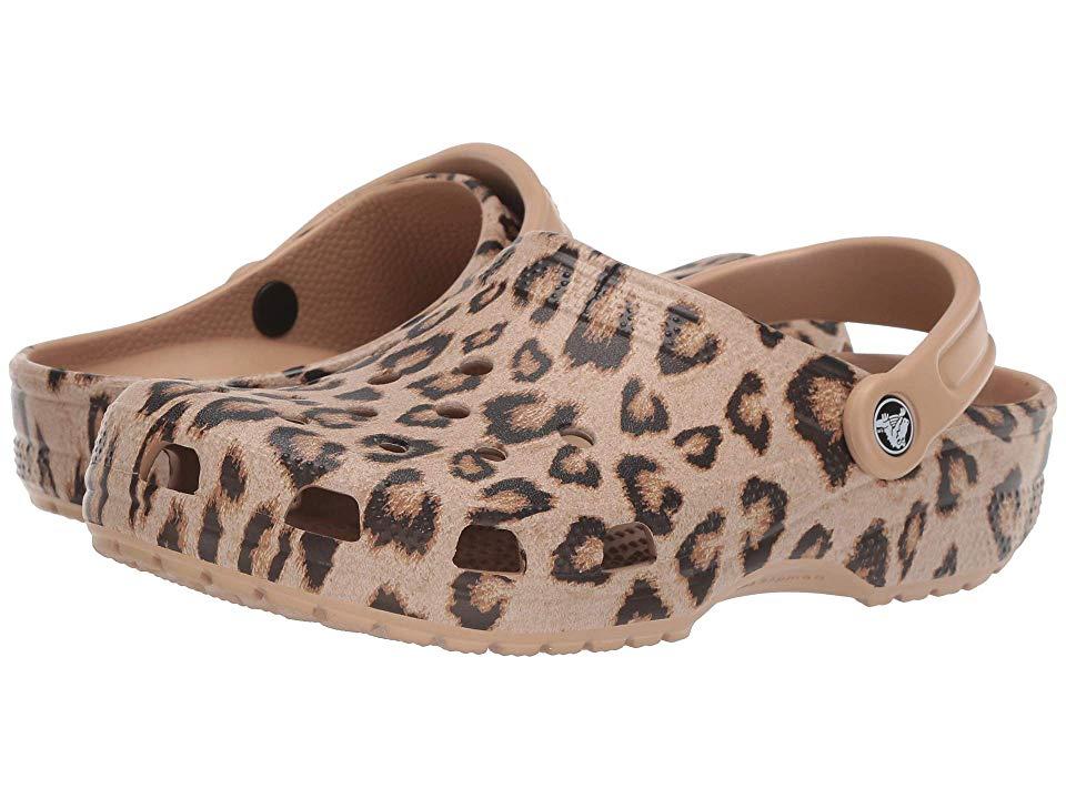 Crocs Classic Printed Clog Shoes