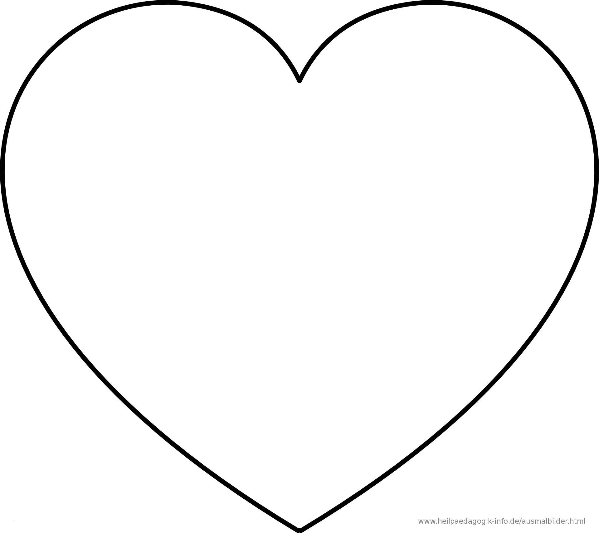 Herz Drucken