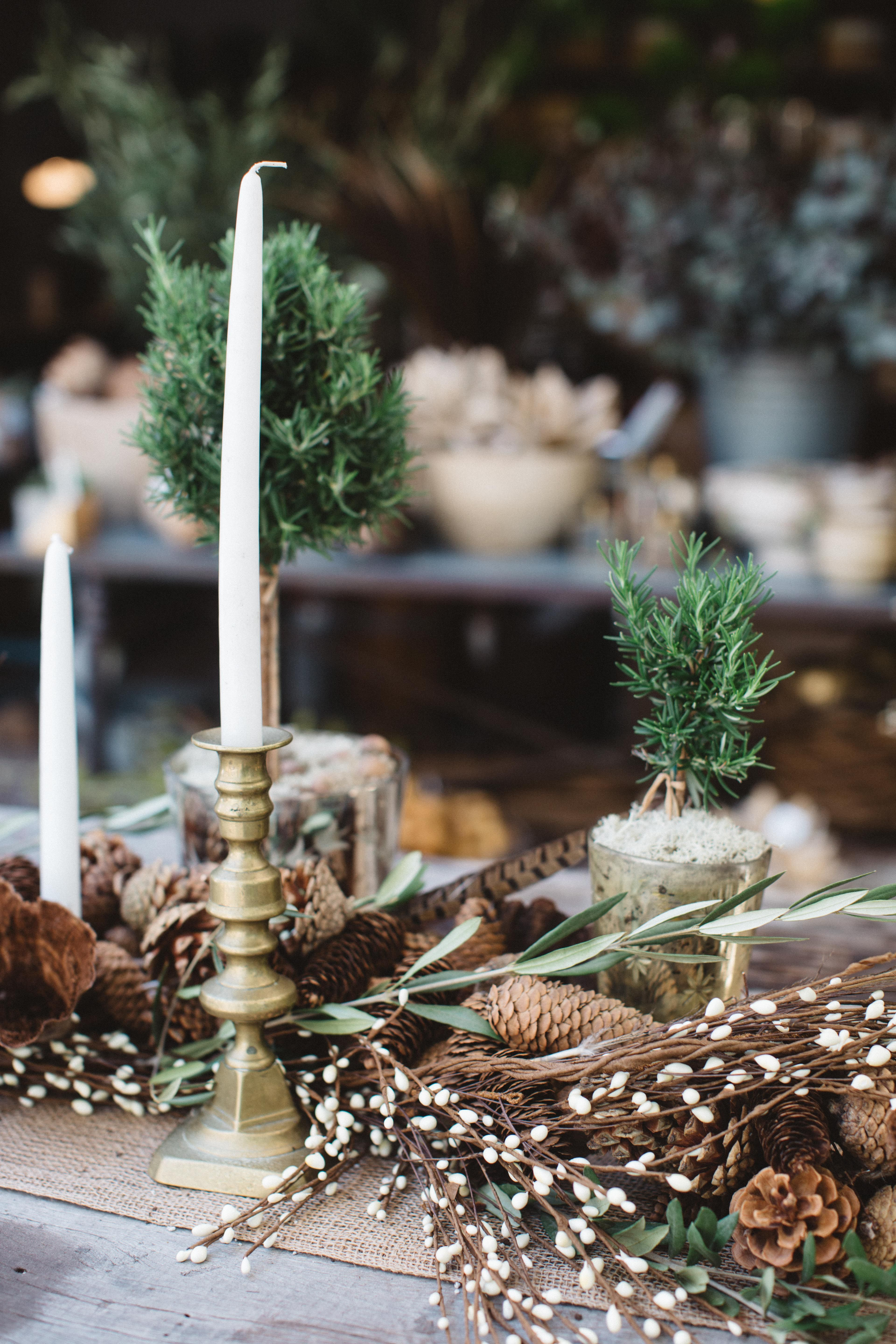 Fall Harvest-to-Holiday Tabletops from Molly Wood | Rue