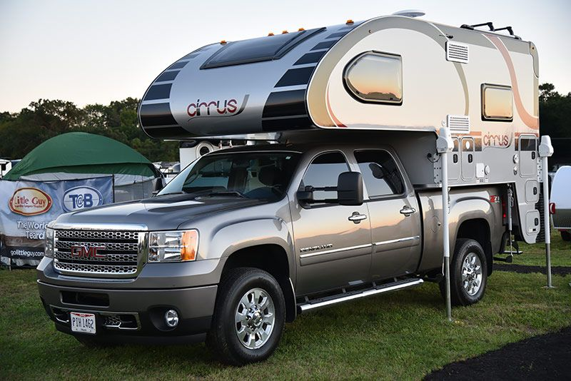 2016 Cirrus 800 Update Gallery Pickup Camper Camper Makeover
