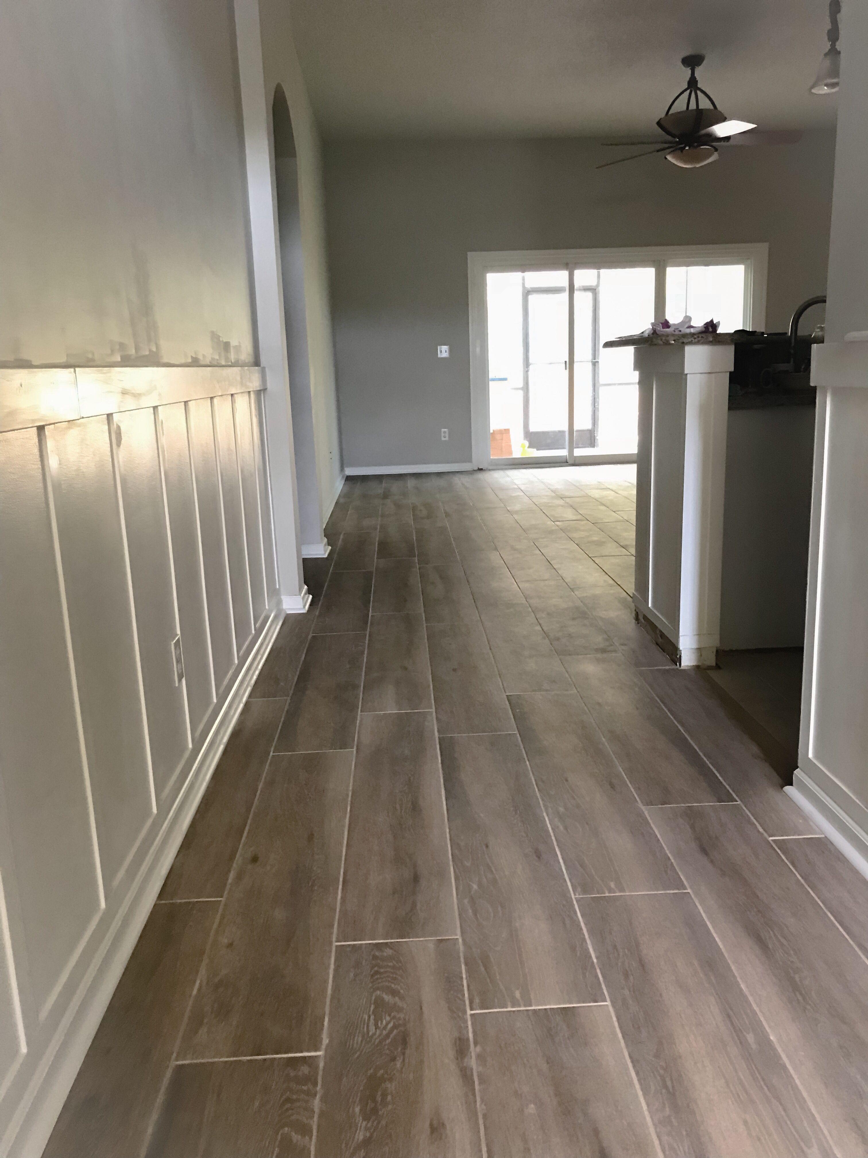 Home Improvement Plank Tile Flooring Wood Look Tile Floor Wood