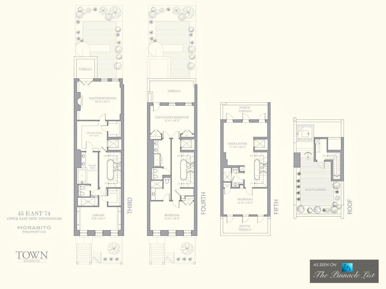 new york townhouse floor plans. Floor Plan  26 Million Upper East Side Townhouse 45 74th St New