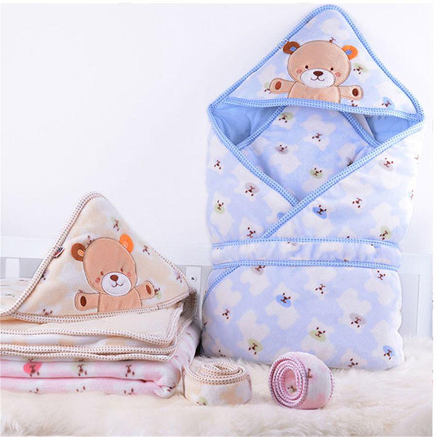 Newborn Blanket Suppliers Swaddle Baby Receiving Blankets Quilt Cotton Toddler Sleeping Bag Sleepsack Stroller Wrap 502097