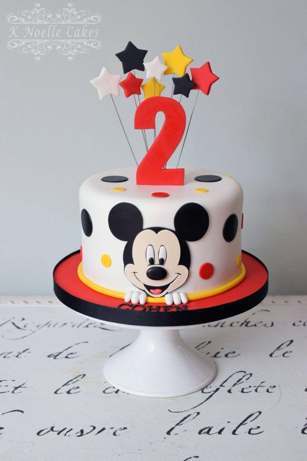 Photo of Mickey-Mouse-Torte # mickeymousebirthdaypartyideas1st Mickey-Mouse-Torte