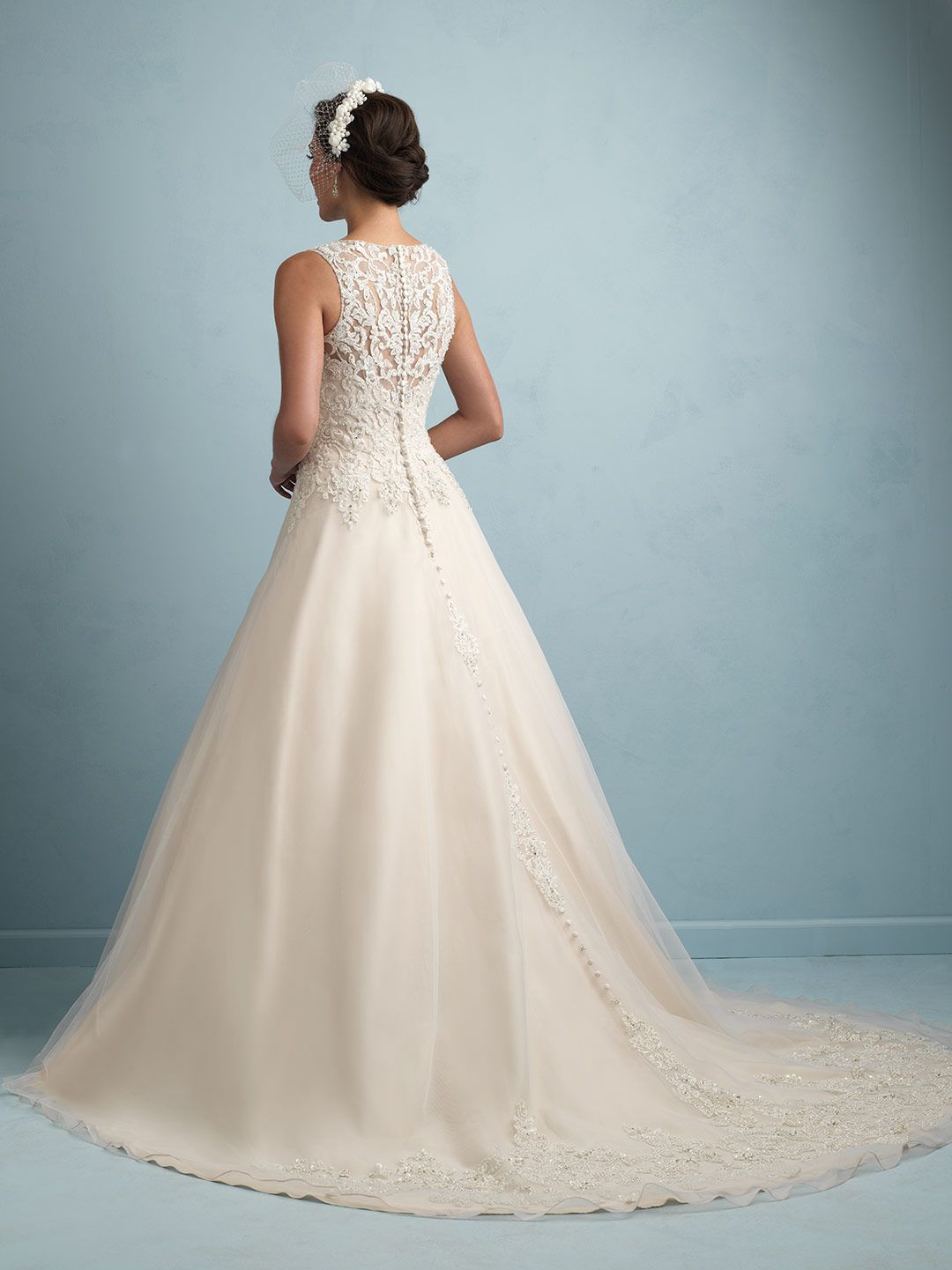 Allure #9200. Love! But with a strapless, sweetheart neckline ...