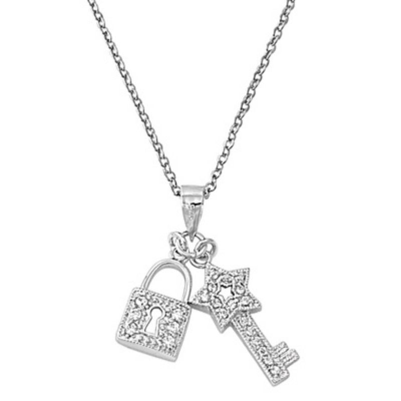 silver color lock set brother and best jewelry pendant in key friends girlfriend buy tbop heart necklace dp