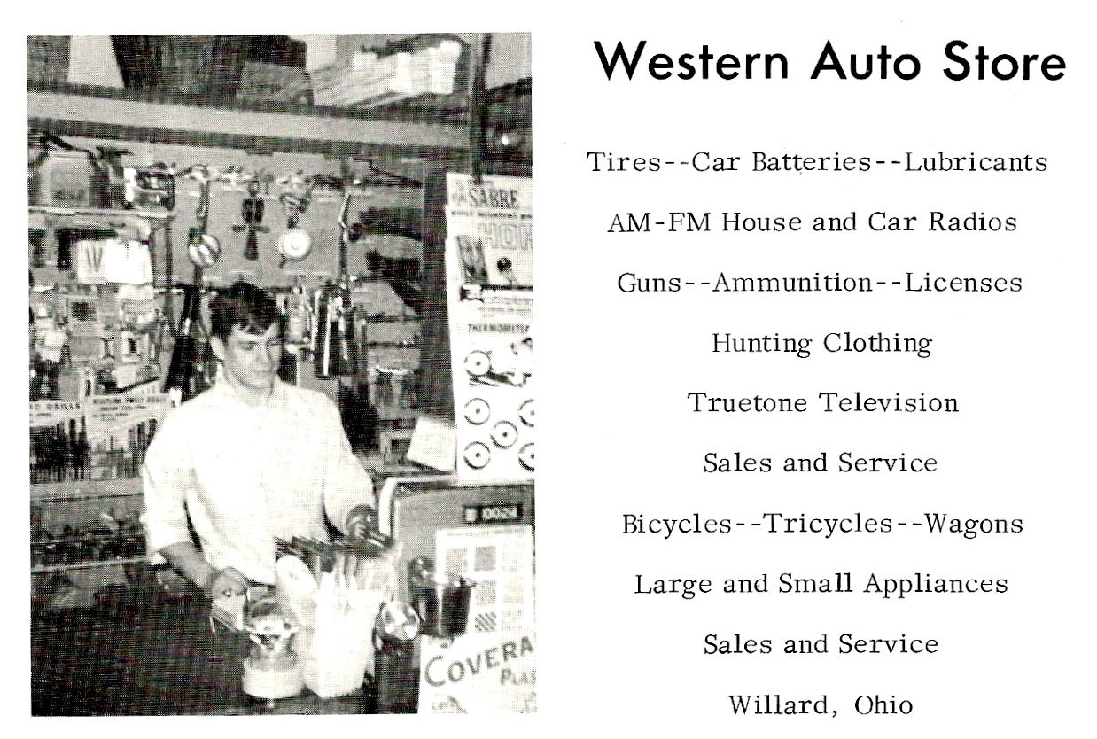 Western Auto Sales >> Western Auto Store 1967 Local History Photo Wall Store