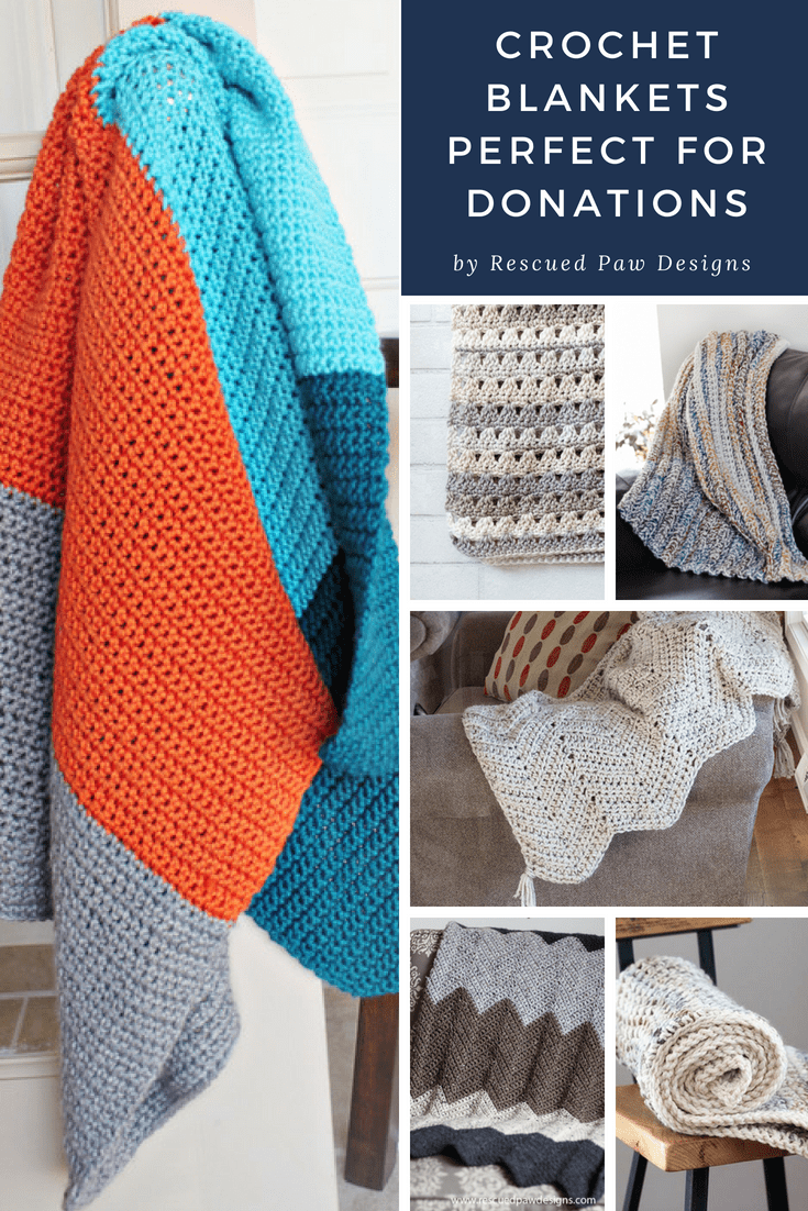 Crochet Patterns That Are Perfect For Donations To Charity 7 Crochet For Charity Crochet Throw Blanket Crochet Blanket Patterns Crochet For Beginners Blanket