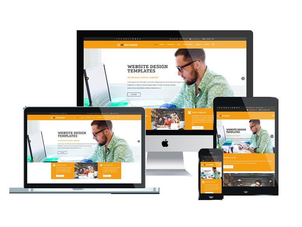 Et Web Design Design Joomla Free Web Design Website Template Design Creative Web Design