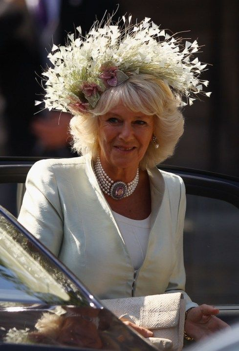 The Duchess of Cornwall (Camila Parker Bowles), July 30, 2011 at her niece, Zara Philip's wedding